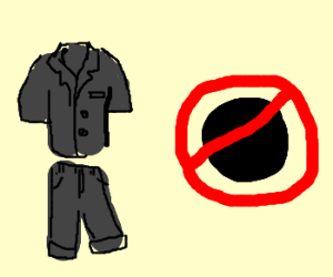 """""""This suit is black not"""""""