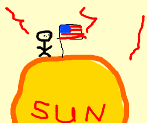 americans trying to claim the sun