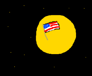 America lands the on the sun