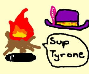 Fire Hole talks to hats