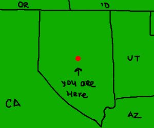 You are in Central Nevada