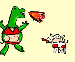 SEXY dragon cow vs SEXY cow dragon