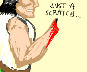 Immune to severed arm pain