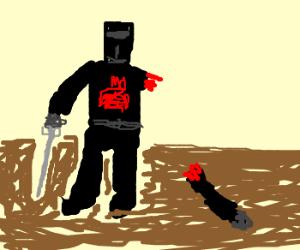 "Black Knight: ""it's just a flesh wound"""