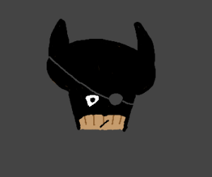The wearer of the batmask becomes batman
