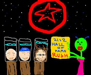 Rush in year 2112, finally in Rn'R HoF