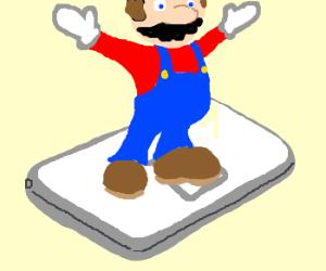 Mario on DS