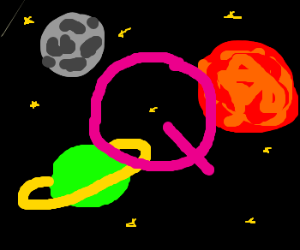 Q in space