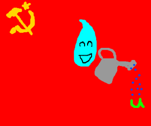 In Soviet Russia, Water Waters You!