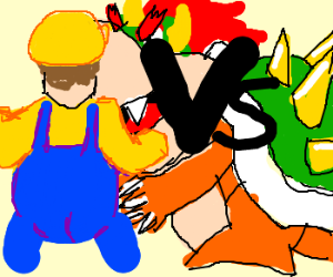 Wario vs Bowser