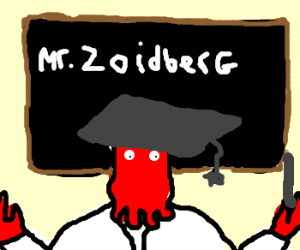 doctor Zoidberg is the new teacher