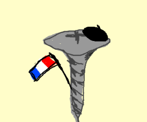 A french screw