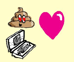 Poop loves his DS