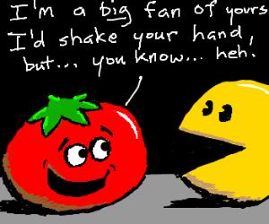 Tomato likes retro games
