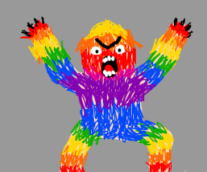 rainbow monster