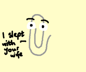 Clippy is asking for it
