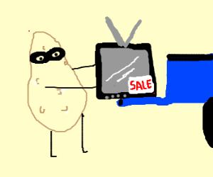 Potato steals on sale tv