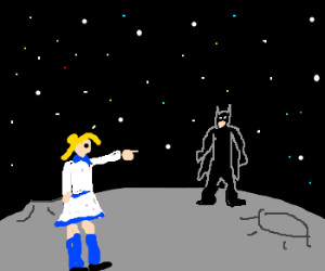 sailormoon: batman get off my moon