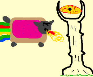 Nyan Cat Defeats Sauron