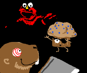 Cleaver Beaver and Elmo kill TM