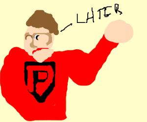 procrastination man is the worst hero