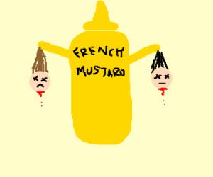 Mustard kills two.