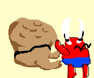 Trouble Muffin fist fighting Mr. Krabs