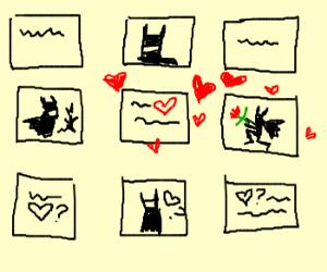 Drawceptioners are in love.