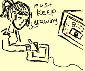 addicted to Drawception