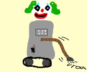 Pennywise the Robot Vacuum