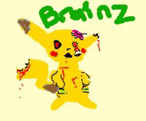 zombie pikachu?