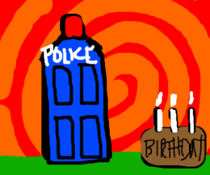 A Doctor Who birthday