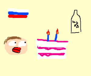 Russian birthday
