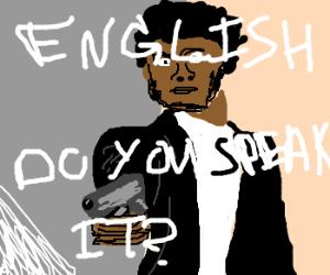 Alienígena loco aprendiendo español