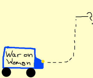 War on women takes an unexpected turn