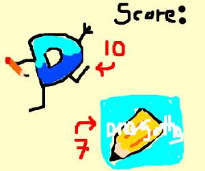 Drawception defeats Draw Something
