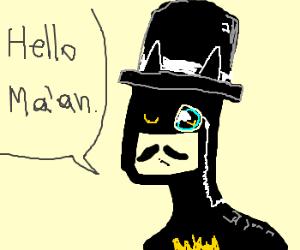gentleman batman