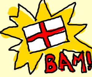 BAM. ENGLAND.