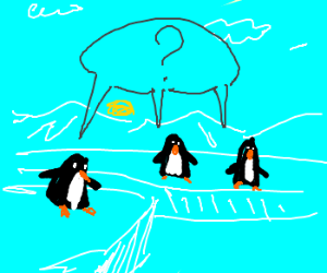 Three penguins don't know much