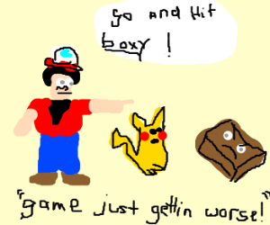 pokemons is a bad game