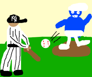 Yankees vs. the smurfing White Sox
