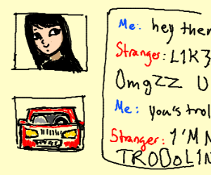 car saying hey there boxxy