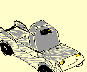 Autobot in car mode