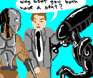 Alien vs. Predator vs. Chris Hansen
