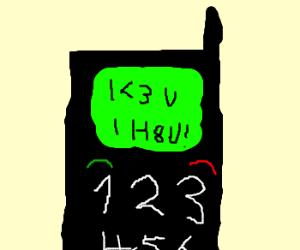 I <3 u I H8 U!