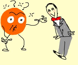 Penny Cartoon w/ amnesia. Help, Peewee!