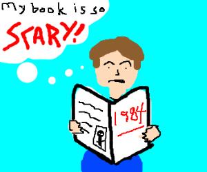 George Orwell afraid of his book