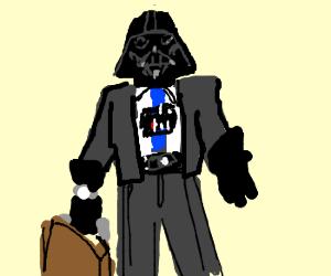 DARTH BUSINESS MAN