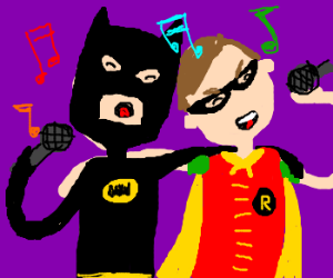 A Batman and Robin duet