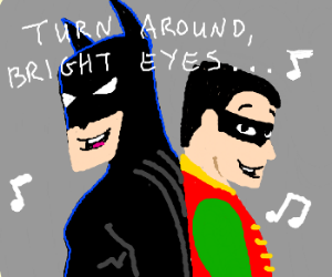 Batman and Robin duet
